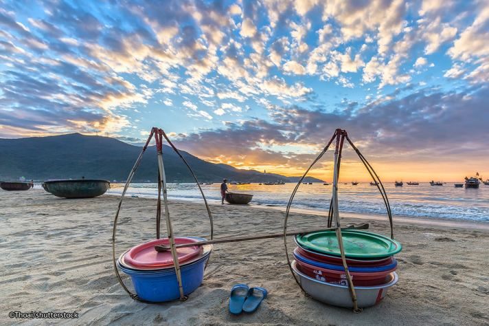 my-khe-beach-sunset
