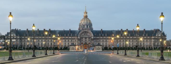 Hôtel des Invalides, North View, Paris 7e